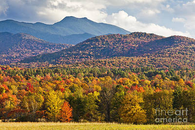 Photograph - Stormy Mount Mansfield by Alan L Graham