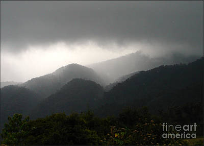 Photograph - Stormy Mountain by Lew Davis