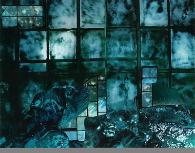 Mixed Media - Stormy Night by Denise Mazzocco