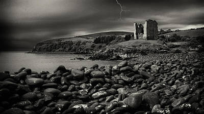 Photograph - Stormy Night In Ireland by Dick Wood