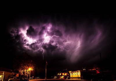 Photograph - Stormy Night by Thomas Hall