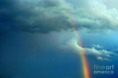 Edward Hopper - Stormy Rainbow by Cristian M Vela