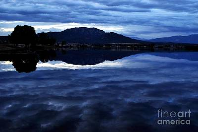 Photograph - Stormy Reflection by Third Eye Perspectives Photographic Fine Art