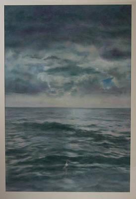 Stormy Sea Art Print by Paez  Antonio