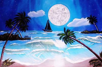 Stormy Seas Original by Amy LeVine