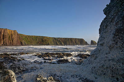 Stormy Seas At Ballydowane Cove,near Art Print by Panoramic Images