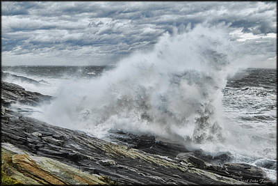 Photograph - Stormy Seas by Erika Fawcett