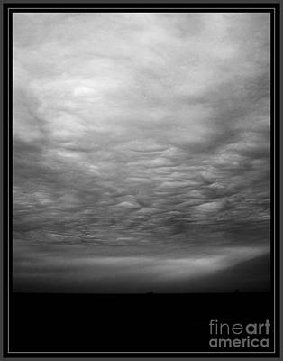 Photograph - Stormy Seascape by Malcolm Suttle