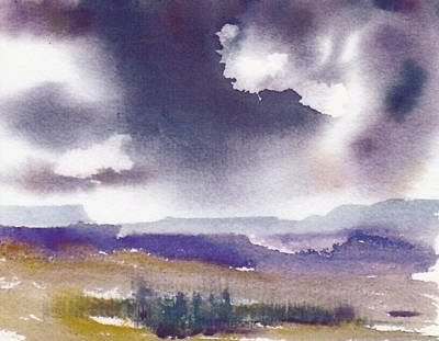 Painting - Stormy Skies by Anne Duke
