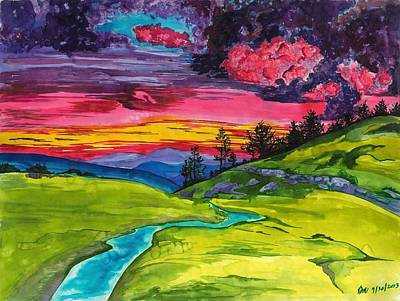 Painting - Stormy Skies by Beverly Marshall
