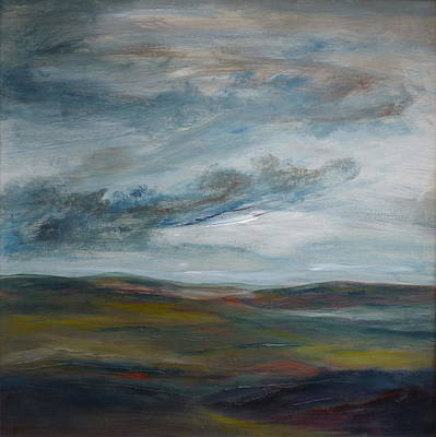 Painting - Stormy Skies by Hazel Millington