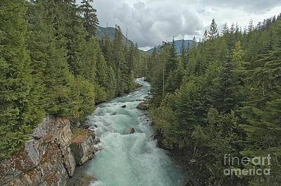 Photograph - Stormy Skies Over The Cheakamus River Gorge by Adam Jewell