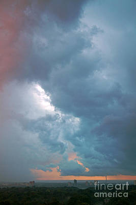 August 2012 Photograph - Stormy Sky by Charline Xia