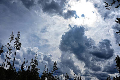 Photograph - Stormy Sky by Harry Spitz