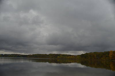 Photograph - Stormy Sky In Autumn by Cim Paddock