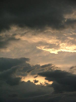 Photograph - Stormy Sky by Philip Rispin