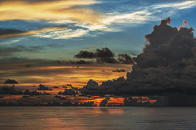 Photograph - Stormy Sunset by Maria Coulson
