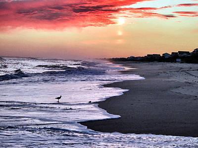 Photograph - Stormy Sunset by Patricia Januszkiewicz