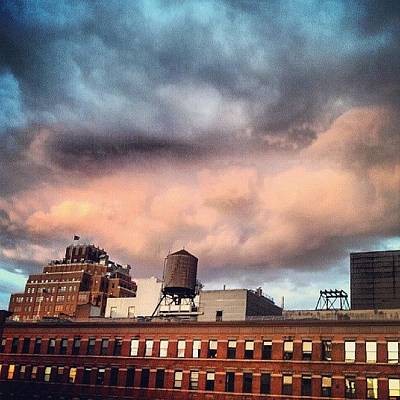 Steampunk Photograph - Stormy Sunset by Rachel Waters