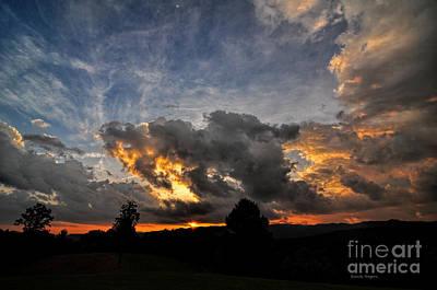 Photograph - Last Light On The Blue Ridge by Randy Rogers