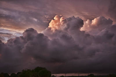 Broadmoor Photograph - Stormy Sunset by Steve Purnell