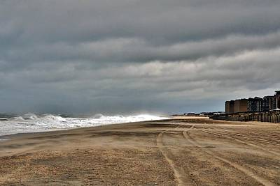 Photograph - Stormy Surf - Bethany Beach - Delaware by Kim Bemis