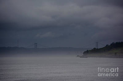 Photograph - Stormy Tacoma Narrows by Tikvah's Hope