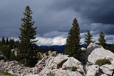 Photograph - Stormy Yellowstone by Robert  Moss