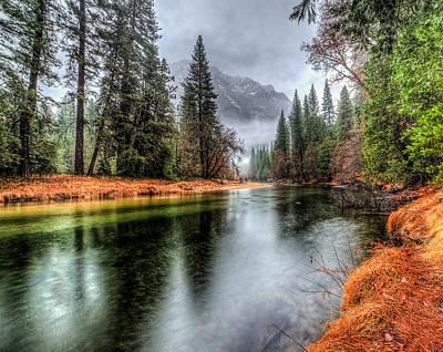 Stormy Yosemite II Art Print