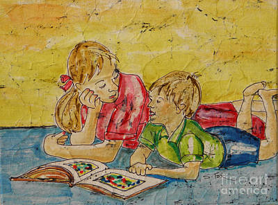 Painting - Story Time by Sandra Fox