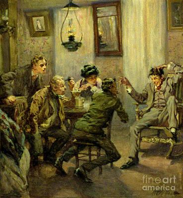 Storyteller 1910 Art Print