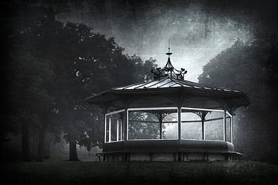 Storytelling Gazebo Art Print