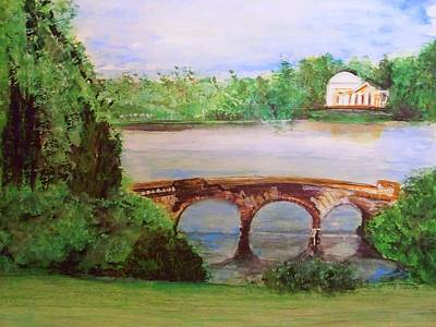 Stourhead Gardens  Art Print