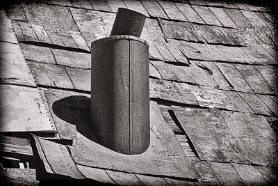 Stove Pipe Art Print by Kelley King