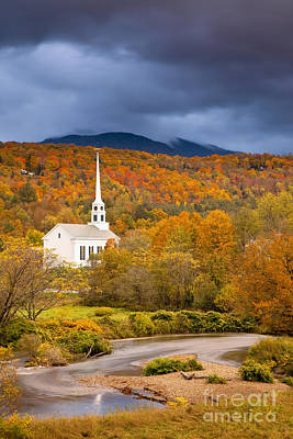 Photograph - Stowe Church by Brian Jannsen