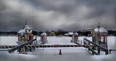 Chautauqua Lake Photograph - Stow Ferry In December by Royce MacIntyre Jr
