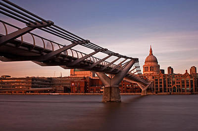 St.paul's From The South Bank Art Print