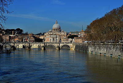 Photograph - St.peter's Basilica by Steven Liveoak