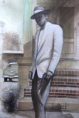 Painting - Str8 Gangster by Gregory DeGroat