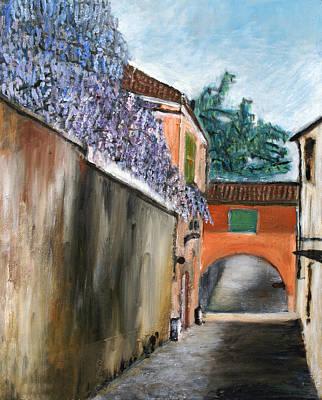 Painting - Strada Di Rivoli by Niki Mastromonaco