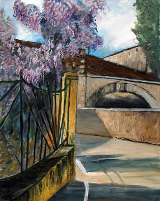 Painting - Strada Fiorita by Niki Mastromonaco
