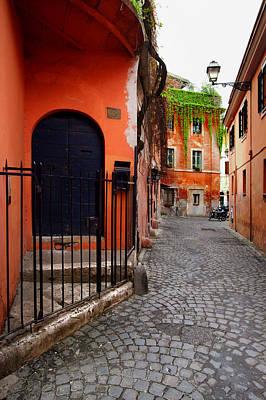 Photograph - Strada Piccola by John Galbo