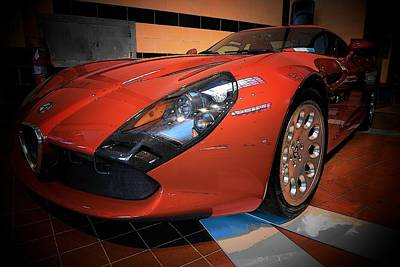 Photograph - Stradale By Zagato by John Schneider