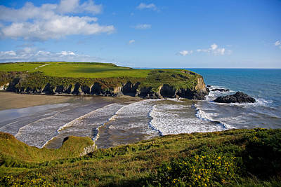 Stradbally Strand, The Copper Coast Art Print by Panoramic Images