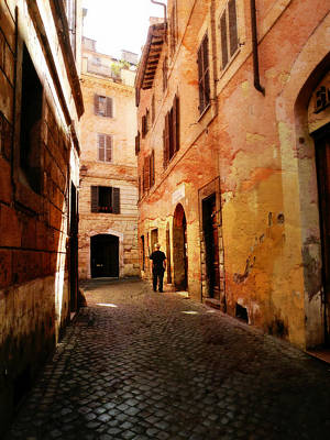 Photograph - Strade Di Ciottoli by Micki Findlay