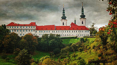 Prague Photograph - Strahov Monastery by Joan Carroll