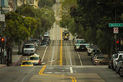Oakland Neighborhood Photograph - Straight And Narrow by Ken Kobe