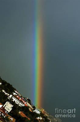 Photograph - Straight Rainbow by Rod Jones