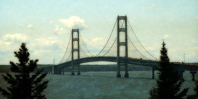 Photograph - Straits Of Mackinac by Michelle Calkins