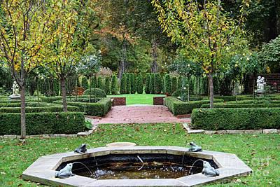 Thomas Kinkade Royalty Free Images - Stranahan Estate Garden 2248 Royalty-Free Image by Jack Schultz